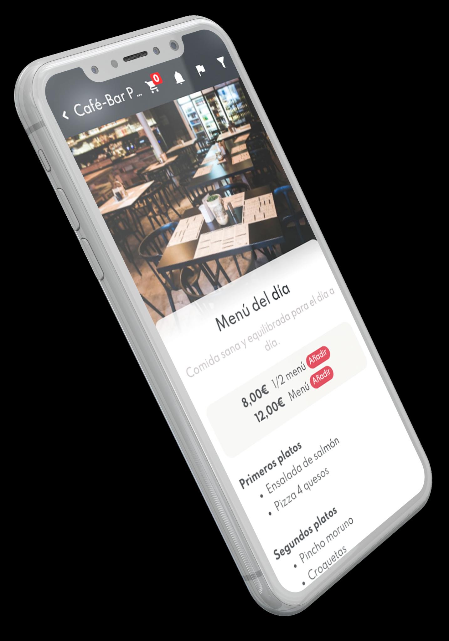 Carta digital en el móvil