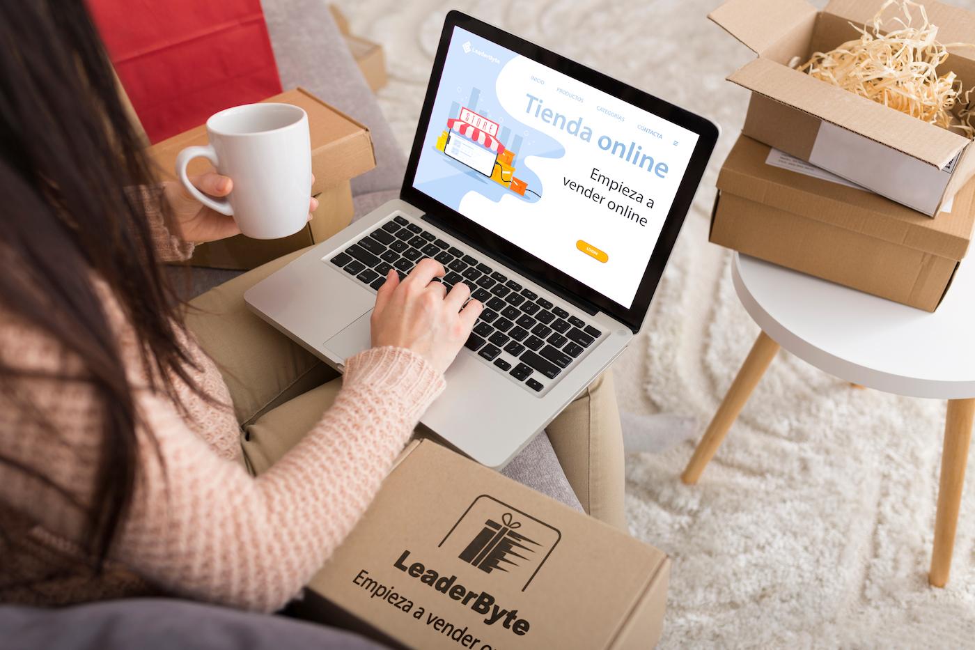 Empieza a vender online con Liderfy
